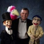 Denny Naughton and Puppets