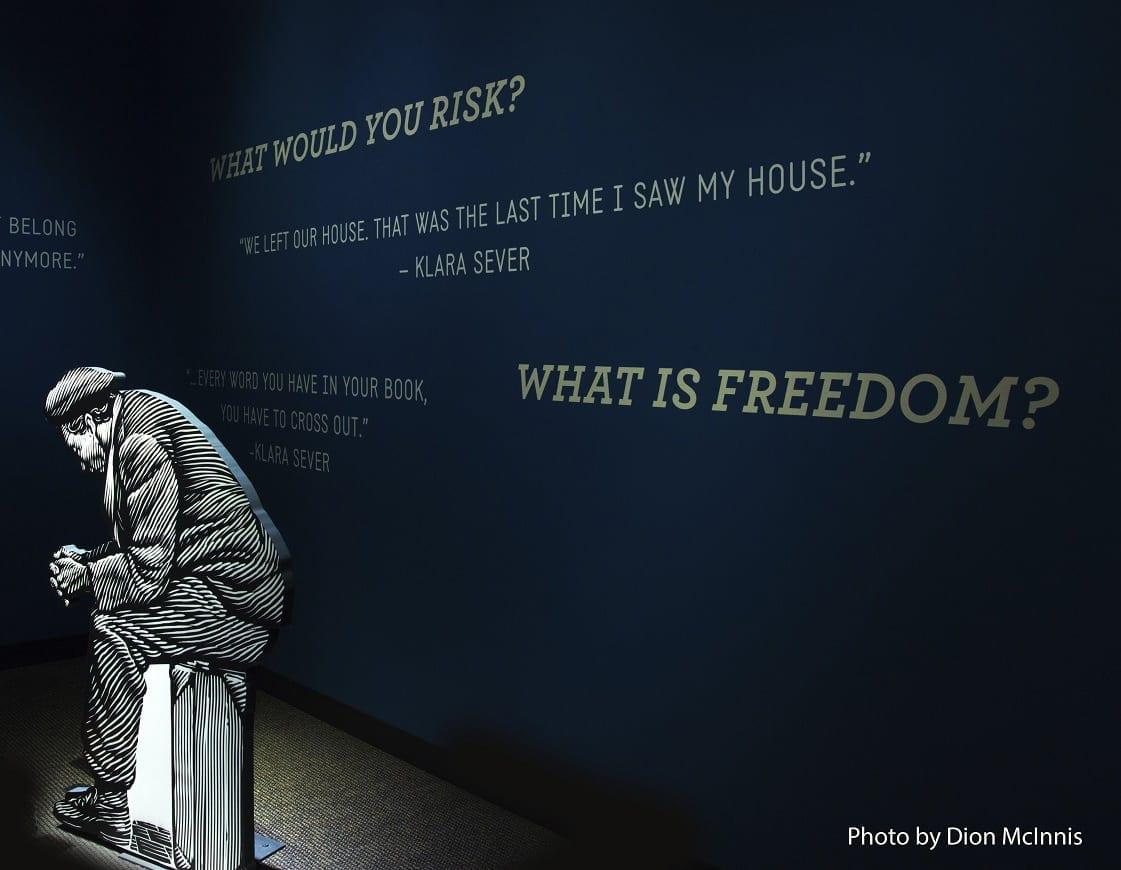 Faces of Freedom exhibit