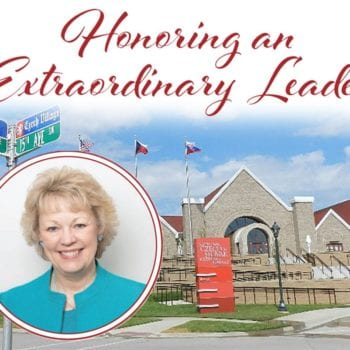 Honoring an Extraordinary Leader