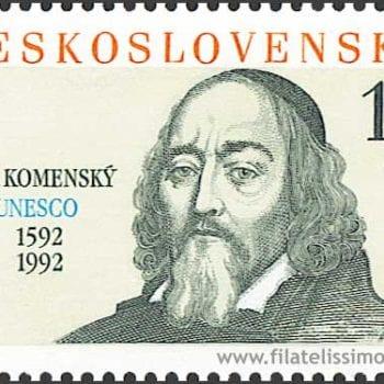 komensky stamp
