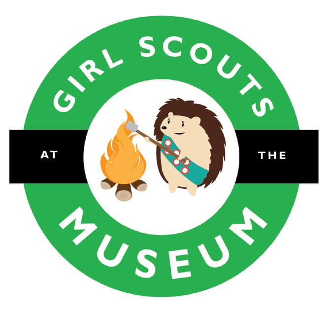Girl Scouts at the Museum