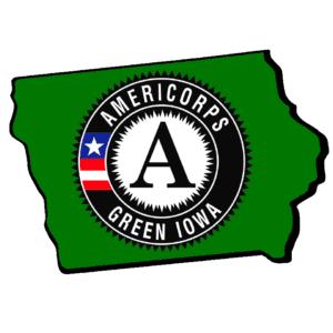 Green Iowa Americorp logo