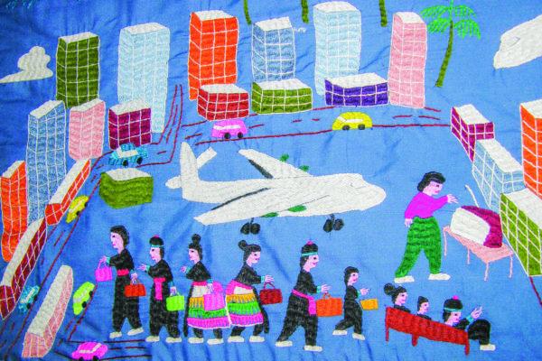 quilt illustration