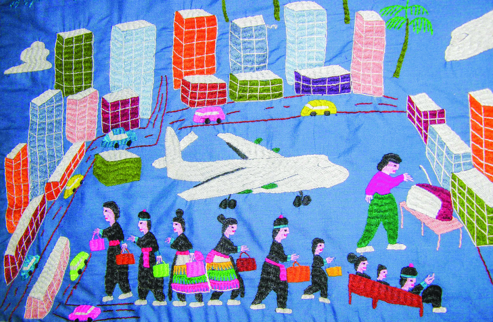 quilt illustration