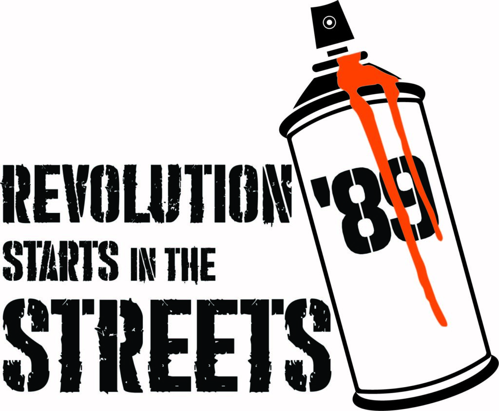Revolution Starts in the Streets logo