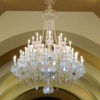NCSML chandelier