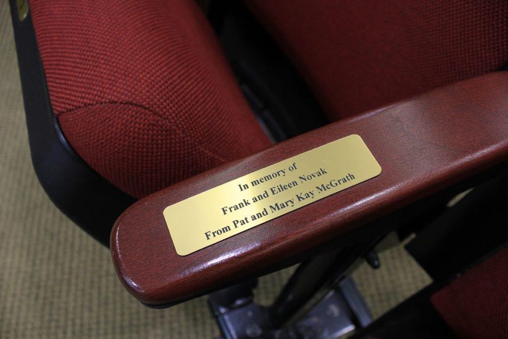 theater seat