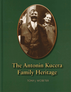 Antonin Kucera Family Heritage Book