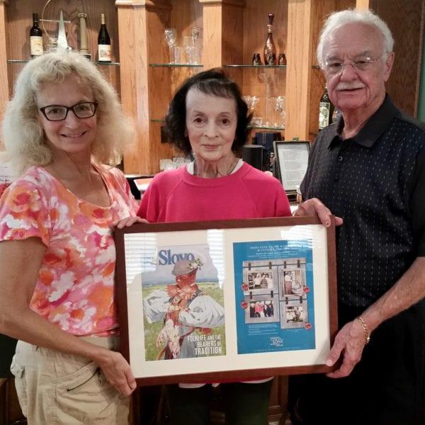 Kazimour Family Slovo Dedication