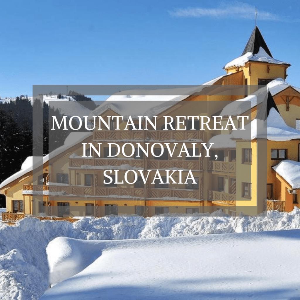 Mountain Retreat in Donovaly, Slovakia