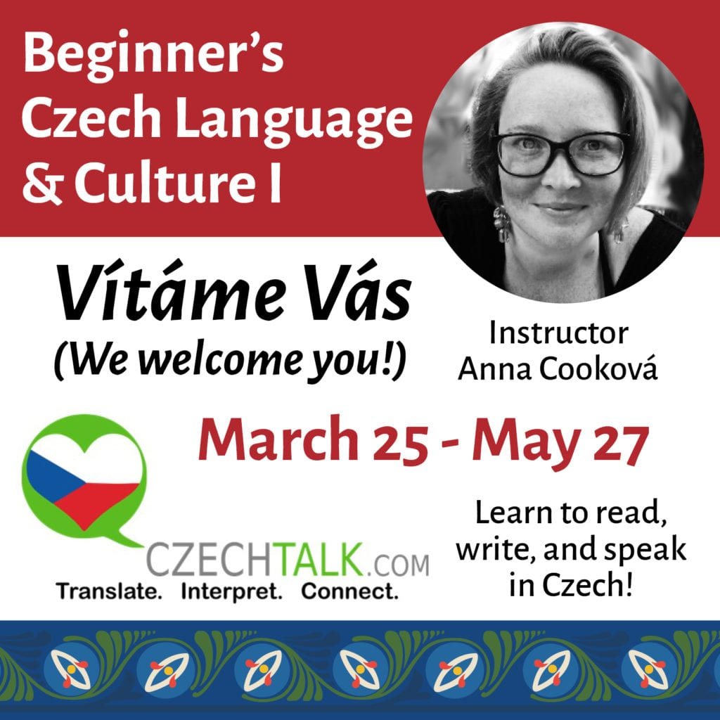 Beginner's Czech Language & Culture I