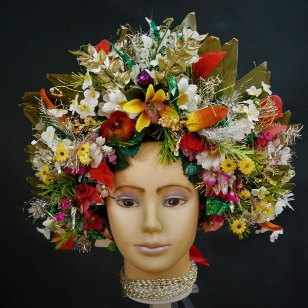 Flower crown headdress